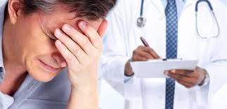 Korrekt Huvudvärk genomförd förebyggande behandling