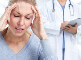 Om en patient som Huvudvärk diagnostiserats med hemikrani