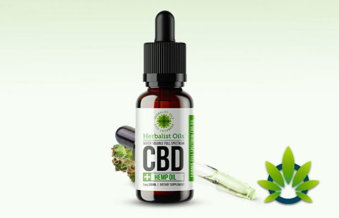 Full Spectrum CBD Oil - resultat - bluff - köpa